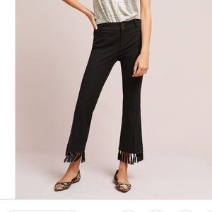The essential crop flare pant by Anthropologie S:8